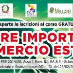 """Corso gratuito per """"Operatore import/export commercio estero"""" del settore Moda. Aperte le iscrizioni"""