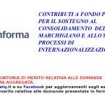 Pubblicata la graduatoria del Bando Voucher della Regione Marche per le domande presentate in forma aggregata.