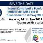 CNA presenta il Nuovo Bando Voucher per l'Internazionalizzazione del MiSE – Ancona, Martedì 24 ottobre alle ore 18.00. Ingresso gratuito.