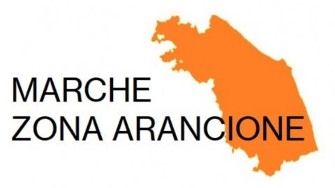 Dal 6 aprile 2021 la Regione Marche passa in fascia arancione